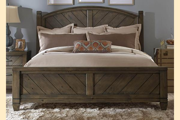 Liberty Modern Country Queen Poster Bed