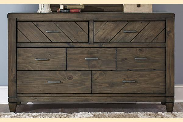 Liberty Modern Country 7 Drawer Dresser