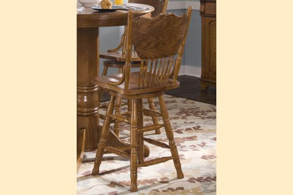 Liberty Nostalgia 24 Inch Press Back Barstool