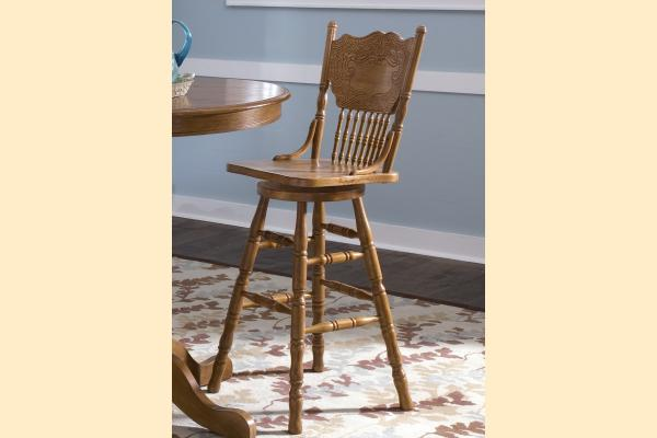 Liberty Nostalgia 30 Inch Press Back Barstool