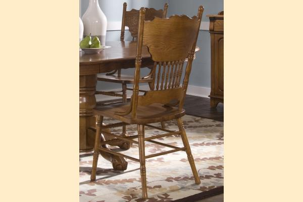 Liberty Nostalgia Double Press Back Side Chair