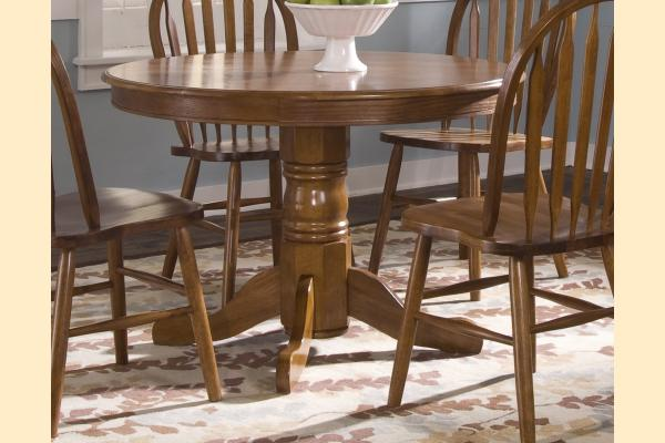 Liberty Nostalgia Round Pedestal Table