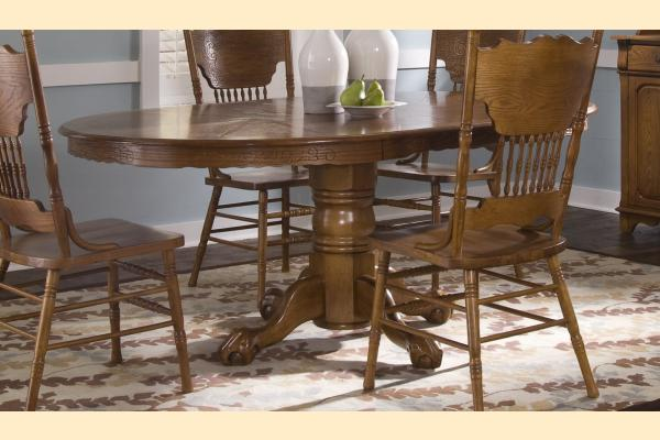 Liberty Nostalgia Single Pedestal Table