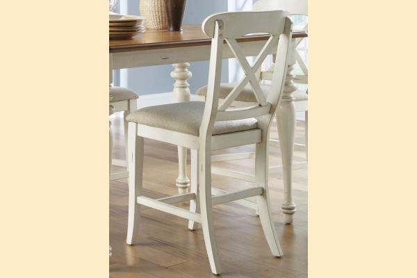 Liberty Ocean Isle Uph X Back Counter Chair
