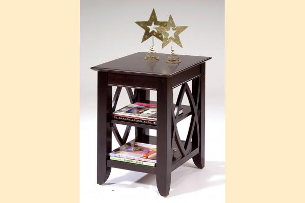 Liberty Piedmont Shelf End Table