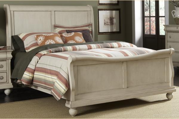 Liberty Rustic Traditions II King Sleigh Bed