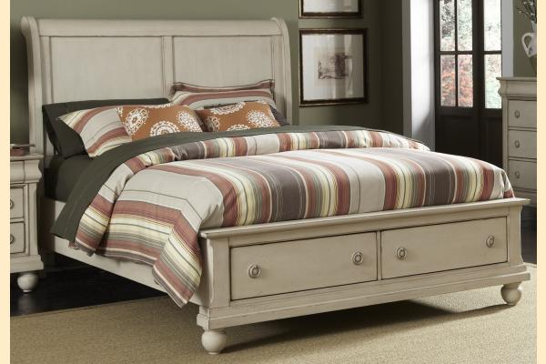 Liberty Rustic Traditions II King Sleigh Storage Bed