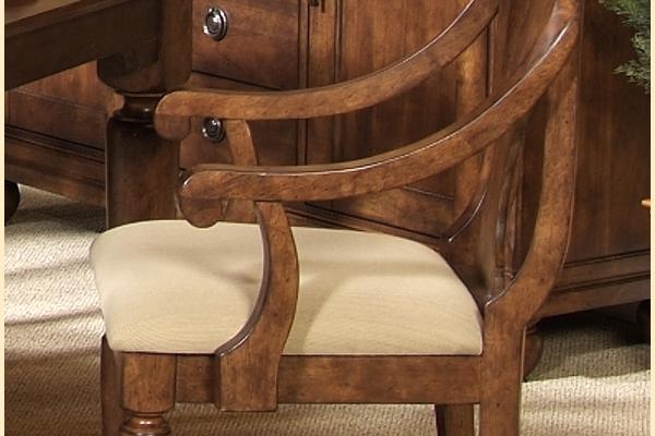 Liberty Rustic Tradition Splat Back Arm Chair