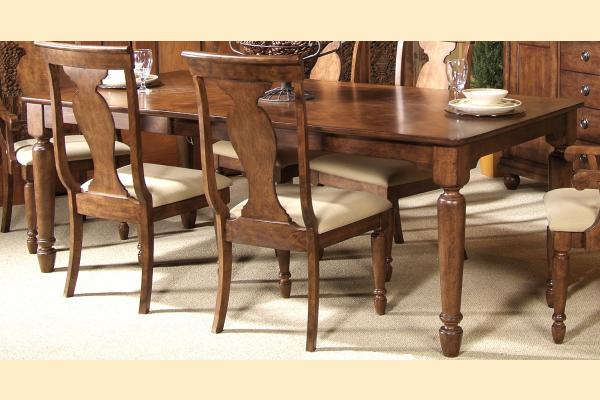 Liberty Rustic Tradition Rectangular Leg Table w/ 1 18