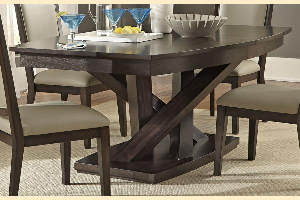 Liberty Southpark Pedestal Table w/ One 12 inch Leaf