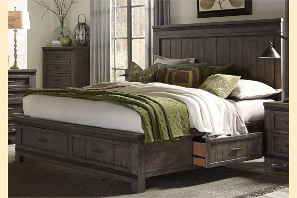 Liberty Thornwood Hills Queen Three Sided Storage Bed