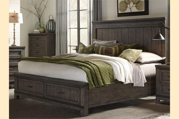 Liberty Thornwood Hills King Storage Bed