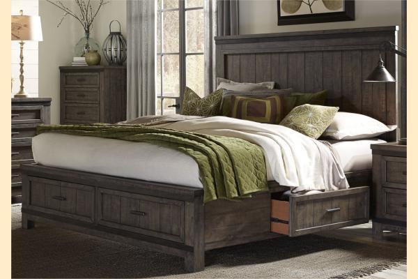 Liberty Thornwood Hills King Three Sided Storage Bed