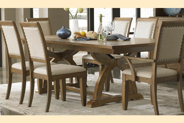 Liberty Town & Country Dining Trestle Table with One 24