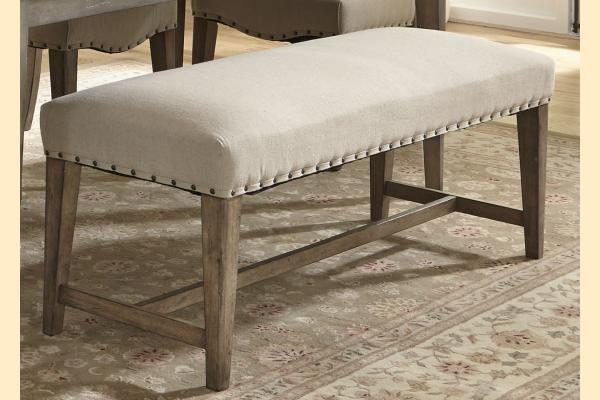 Liberty Weatherford Upholstered Bench