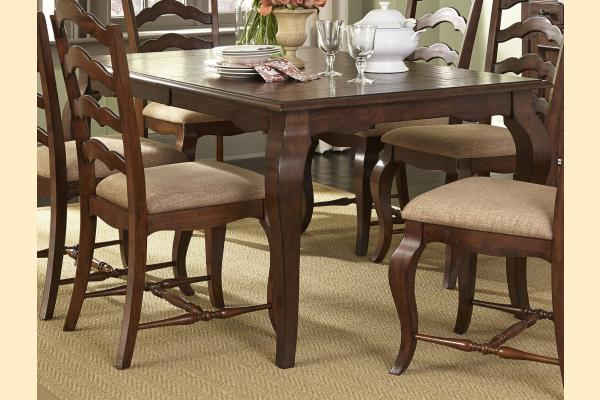 Liberty Woodland Creek Rectangular Leg Table Includes 18