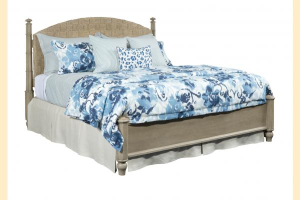 American Drew Litchfield Queen Currituck Low Post Bed