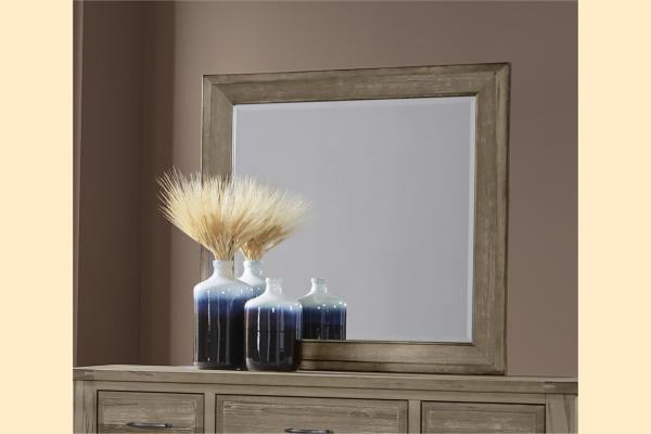 VB Artisan & Post  Maple Road-Weathered Gray Landscape Mirror