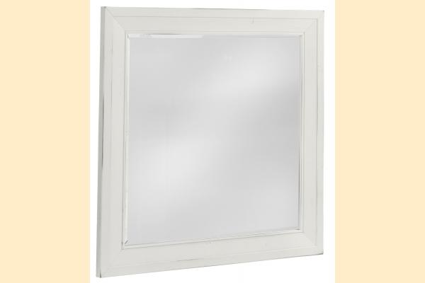 VB Artisan & Post  Maple Road-Chalky White Landscape Mirror
