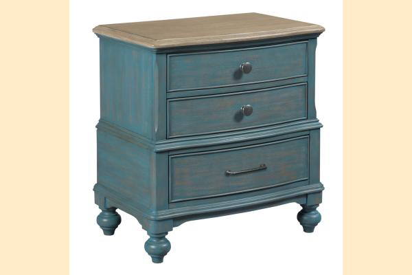 American Drew Litchfield Moray Nightstand-Blue