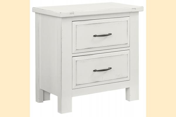VB Artisan & Post  Maple Road-Chalky White Night Stand