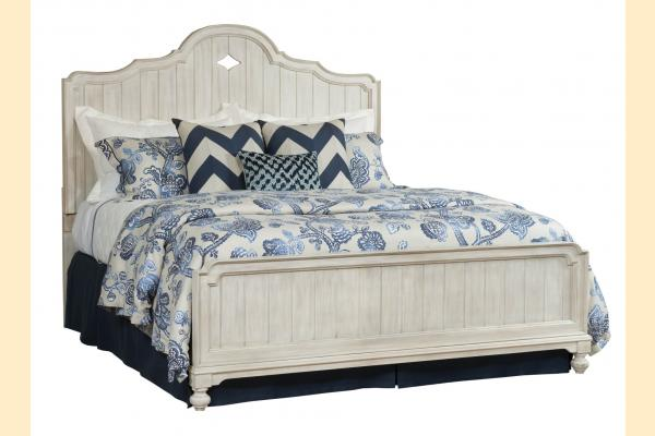 American Drew Litchfield King Laurel Panel Bed
