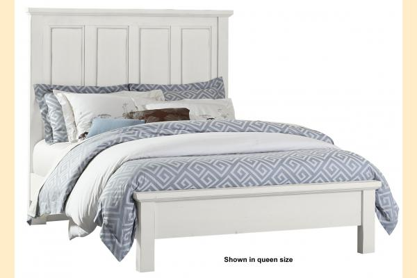 VB Artisan & Post  Maple Road-Chalky White King Mansion Bed
