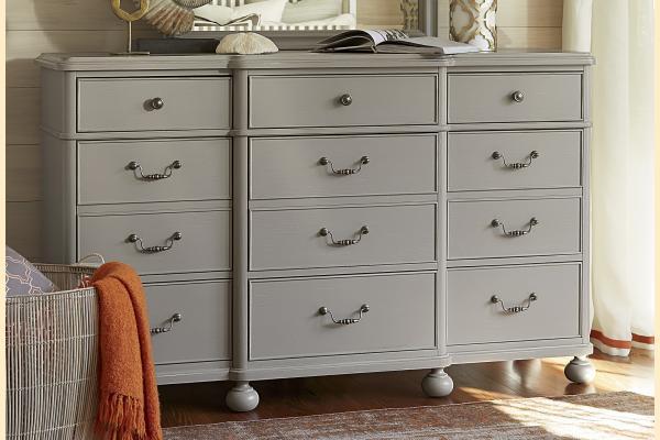 Paula Deen Dogwood-Cobblestone 9 Drawer Dresser