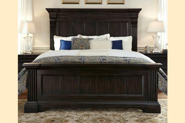 Pulaski Caldwell Cal-King Panel Bed