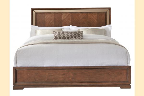Pulaski Chrystelle Queen Panel Bed
