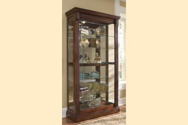 Pulaski Curio Cabinet 20485 Two Way Sldg Door Curio