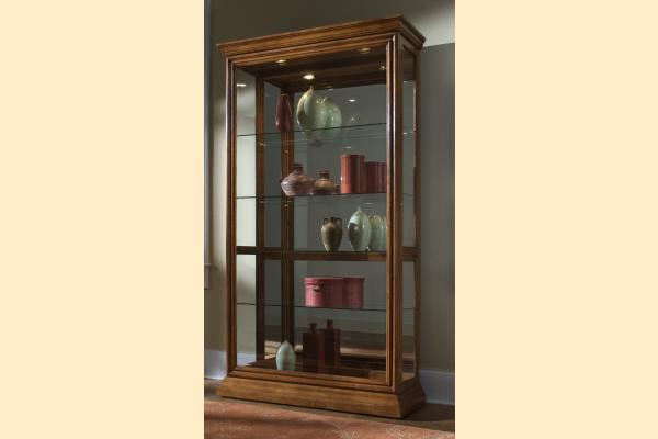 Pulaski Curio Cabinet 20544 Two Way Sldg Door Curio