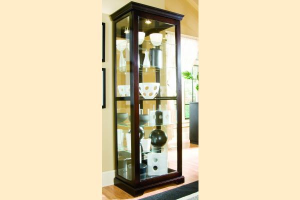 Pulaski Curio Cabinet 20994 Two Way Sldg Door Curio