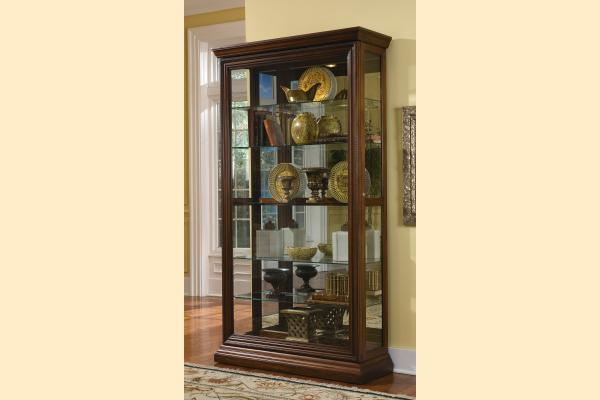 Pulaski Curio Cabinet 21015 Two Way Sldg Door Curio