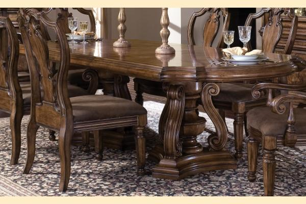 Pulaski San Mateo Double Pedestal Table