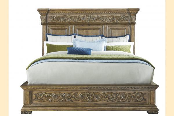 Pulaski Stratton King Panel Bed
