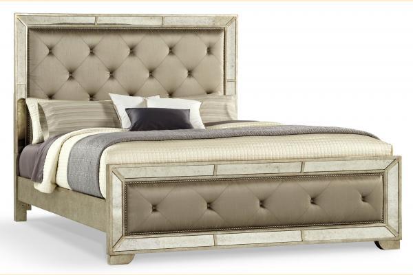 Pulaski Tangerine-Farrah Cal-King Upholstered Bed