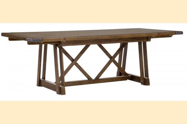 Pulaski Weston Loft Rectangular Dining Table w/ 2 12 Inch Leaves