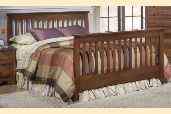 Carolina Furniture Crossroads Queen Slat Bed