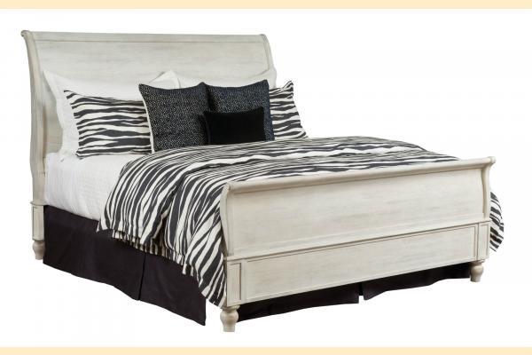 American Drew Litchfield Queen Hanover Sleigh Bed