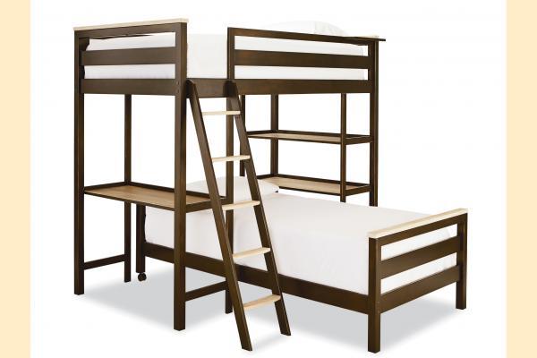 SmartStuff #myRoom Metal Loft Bunk Bed