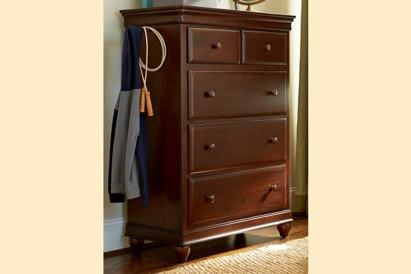SmartStuff SmartStuff Classic 4.0 Classic Cherry Drawer Chest