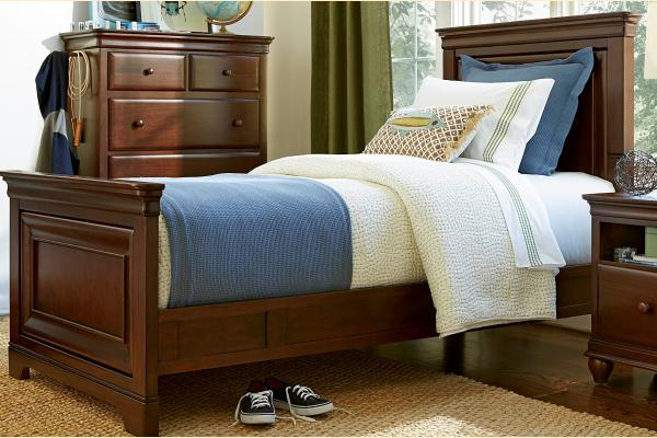 SmartStuff SmartStuff Classic 4.0 Classic Cherry Twin Panel Bed