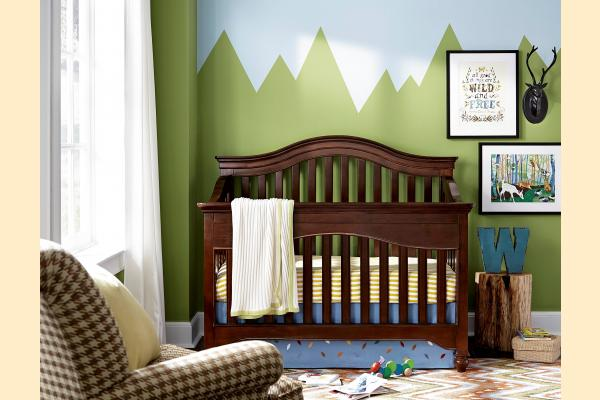 SmartStuff SmartStuff Classic 4.0 Classic Cherry Convertible Crib  **Customer Assembly Required**