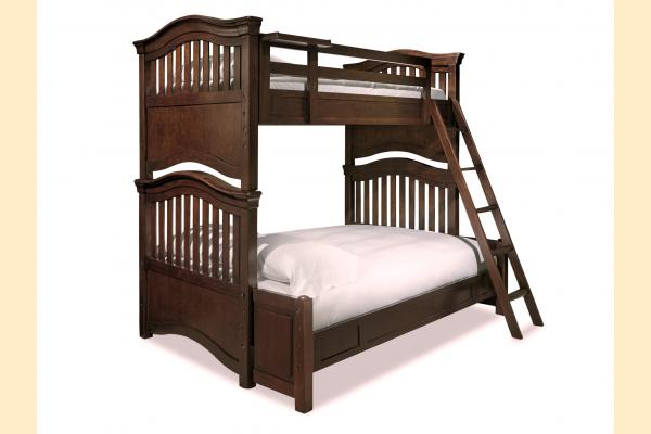 SmartStuff SmartStuff Classic 4.0 Classic Cherry Twin over Full Bunk Bed