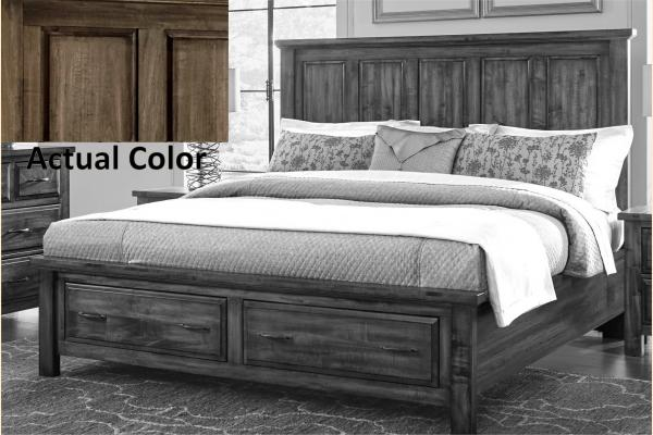 VB Artisan & Post  Maple Road-Maple Syrup King Mansion Storage Bed