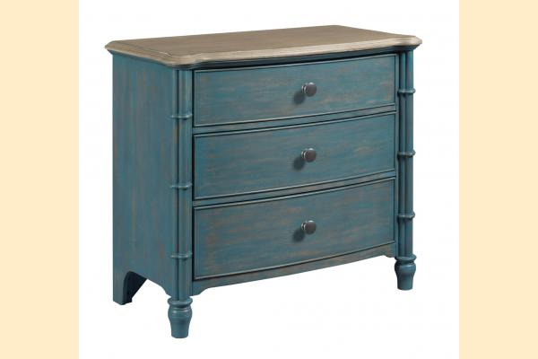 American Drew Litchfield Sundown Accent Chest-Blue