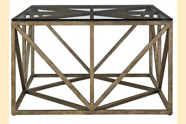 Universal Furniture Authenticity Truss Square Cocktail Table