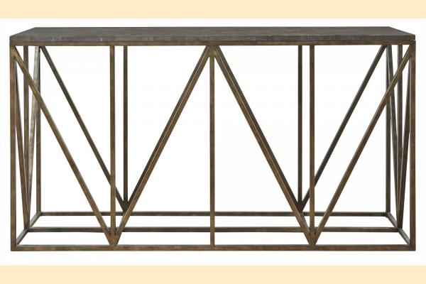 Universal Furniture Authenticity Truss Console Table