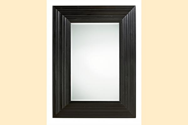Universal Furniture Authenticity Portrait Mirror-Black Denim
